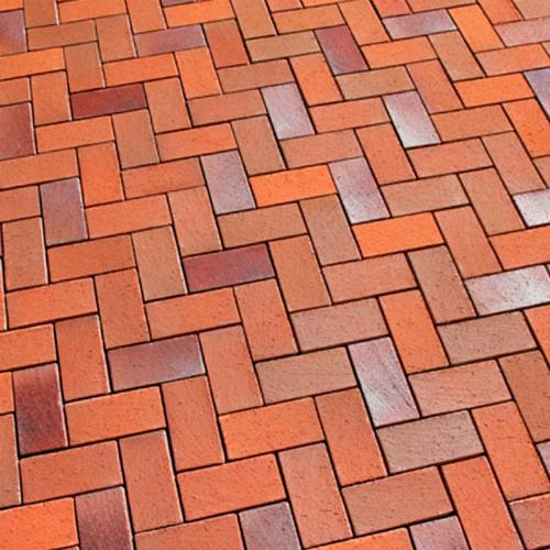 Тротуарный кирпичик цветной высота 45 мм