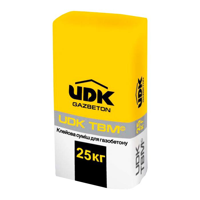 Клей для газобетона ТМ UDK