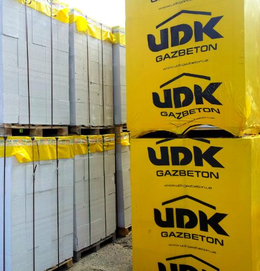 Автоклавный газобетон UDK с доставкой Днепр (Днепропетровск)